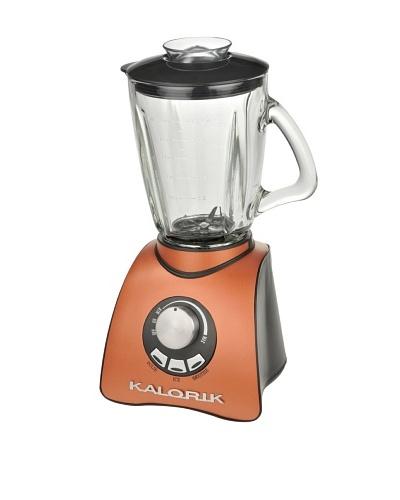 Kalorik 500-Watt Electronic-Speed Blender with 50-Oz. Glass Jar, Aztec Copper