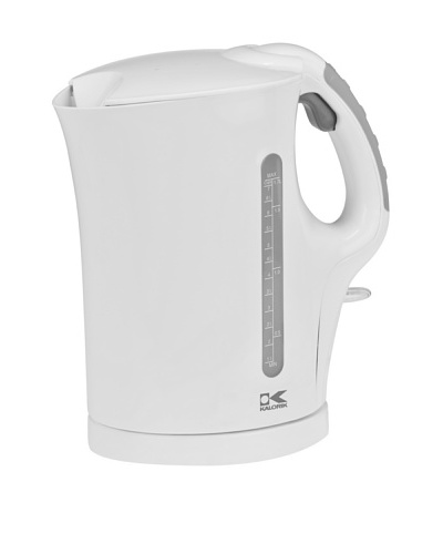 Kalorik Water Kettle, 1.75-Quart, White