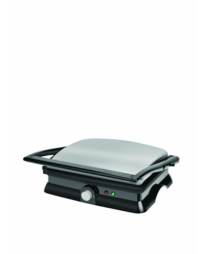 Kalorik 1400-Watt Non-Stick Contact Grill and Panini Maker [Black]