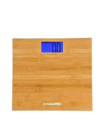 Kalorik Electronic Bamboo Bathroom Scale
