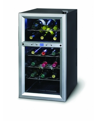 Kalorik Thermoelectric Dual-Zone 18-Bottle Ventilated Wine Cooler