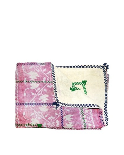 Kantha Collection Vintage Kantha Throw, Multi