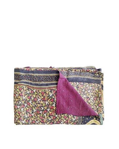Kantha Collection Vintage Kantha Throw, Multi