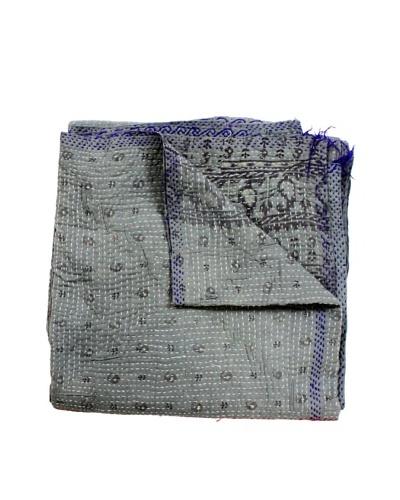 Kantha Throw, Multi, 50 x 80