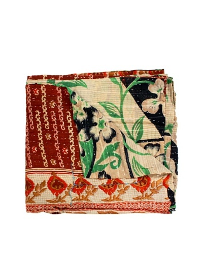 Kantha Throw, Multi, 50 x 80