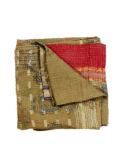 "Kantha Throw, Multi, 50"" x 80"""