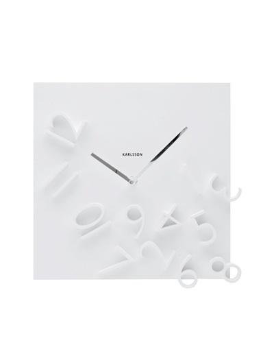 Karlsson Falling Numbers Wall Clock