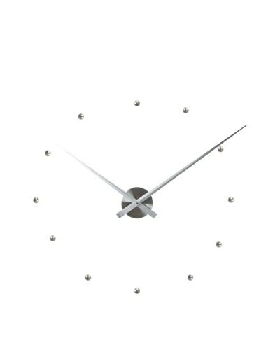 Karlsson Little Big Time DIY Bullets Wall Clock, Silver