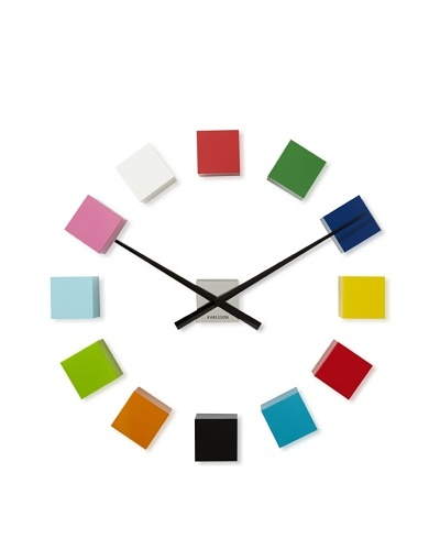 Karlsson DIY Cubic Wall Clock