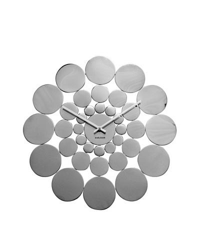 Karlsson Disk Design Wall Clock, Steel