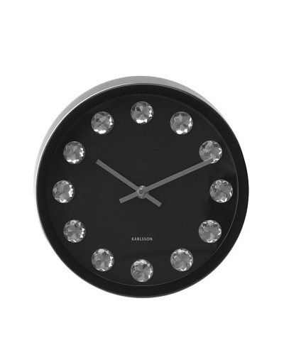 Karlsson Crystal Numbers Wall Clock