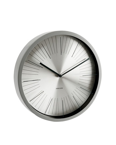 Karlsson Floating Stripes Wall Clock