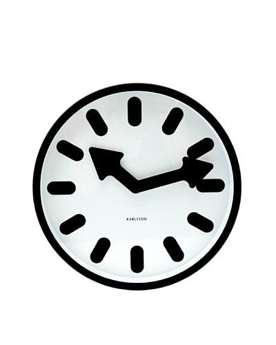 Karlsson Wall Clock Pictogram