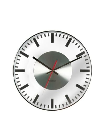 Karlsson Printed Station Wall Clock