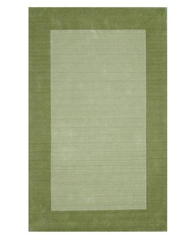 Kas Elements Rug, Sage Green, 2' 3 x 3' 9