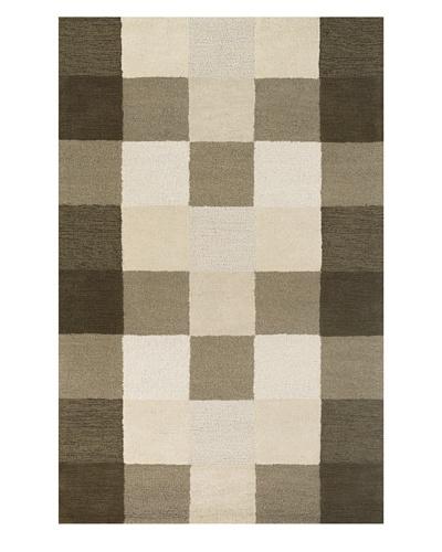 Kas Ivory/Flax Checkerboard