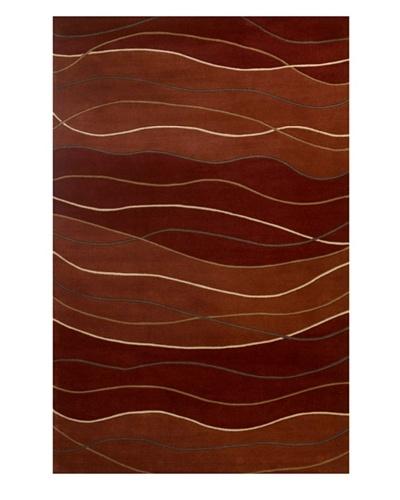 Kas Waves Rug, Sahara, 5' 3 x 8' 3