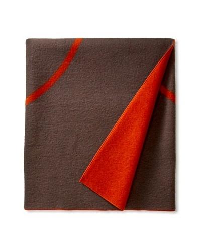 Kate Spade Saturday Positive Negative Blanket, Steel