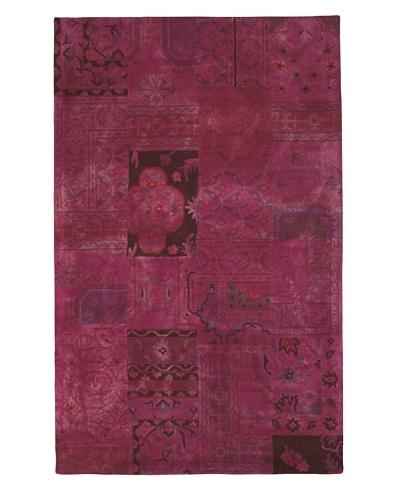 Kavi Handwoven Rugs Palermo Dip-Dyed Rug, Pink, 5' x 8'