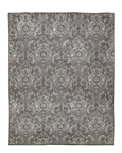 Kavi Handwoven Rugs Wonders Select Rug, Grey/Cream, 5' 3 x 7' 6