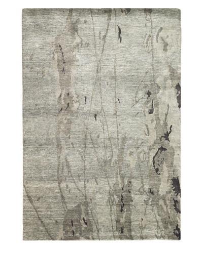 Kavi Handwoven Rugs Sheer Elegance Rug, Grey, 6' x 9'