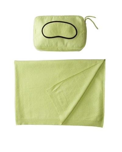 Sofia Cashmere Romagna Jersey Knit Travel Set, Apple Green