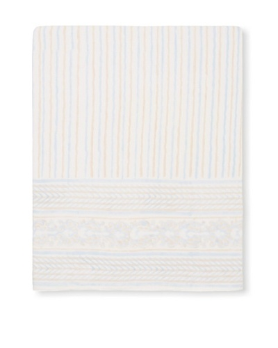 Kerry Cassill Flat Sheet, Tan Sea Stripe, Queen/King