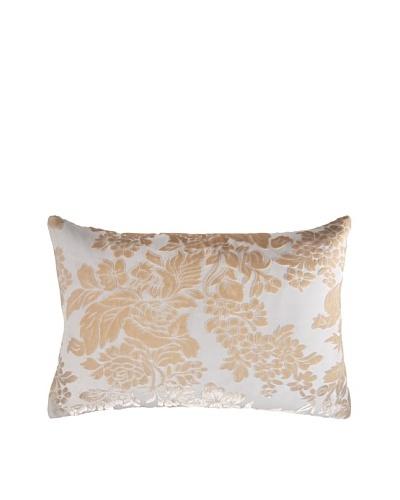 Kevin O'Brien Studio Hand Printed Devore Velvet Tapestry Pillow
