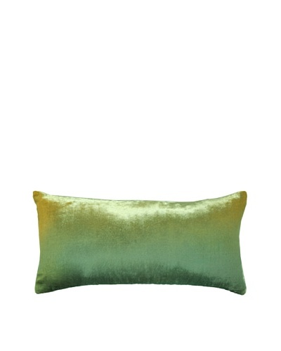 Kevin O'Brien Studio Hand-Painted Devore Velvet Ombre Pillow