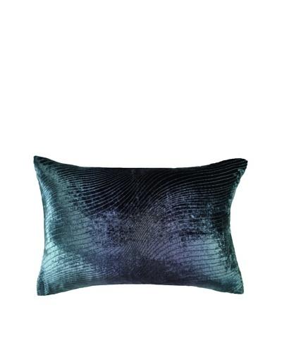 Kevin O'Brien Studio Hand-Painted Devore Velvet Slinky Pillow