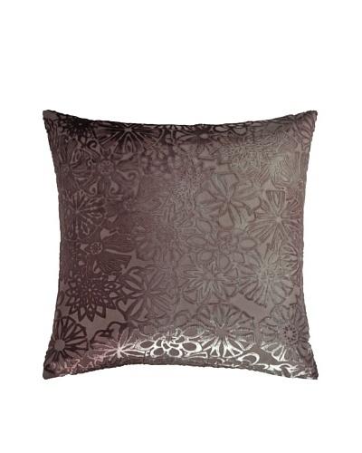Kevin O'Brien Studio Hand-Painted Devore Velvet Kaleidoscope Pillow