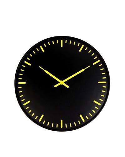 Kikkerland Swiss Station Ultra Flat Wall Clock