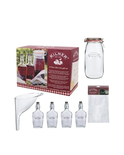 Kilner 8-Piece Sloe Gin SetAs You See