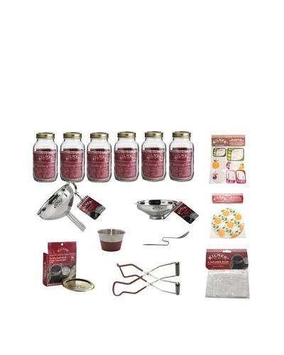 Kilner Set of 6 Canning Preserve Jars