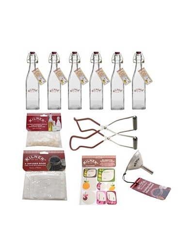 Kilner Preserver 6 Piece Set with Preserver Bottle