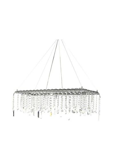 Kirch & Co. Sophia Crystalline Rectangular Pendant Light