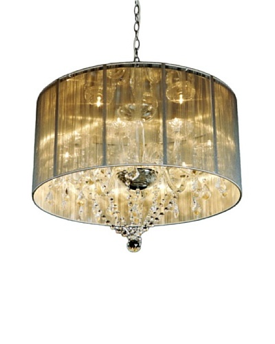 Kirch & Co. Heritage Satin Crystal Chandelier