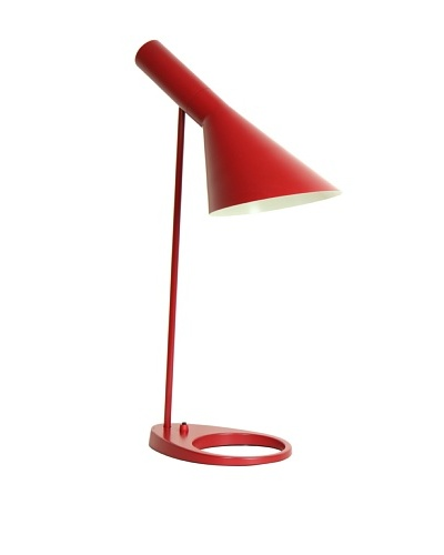 Kirch & Co. AJ Table Lamp, RedAs You See