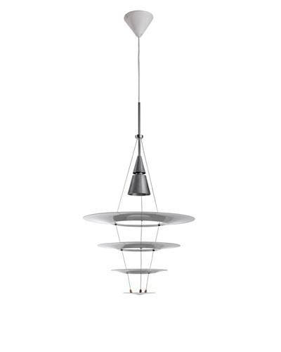 Kirch & Co. Tastrupp Pendant Lamp, Silver/White