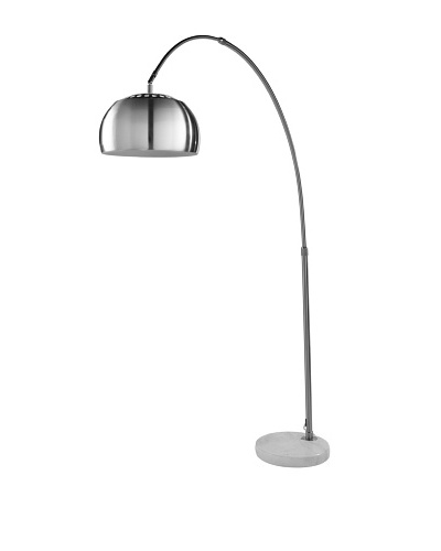 Kirch & Co. Arch City Floor Lamp, Silver