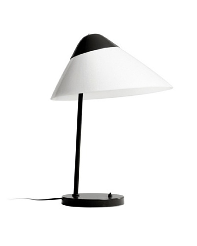 Kirch & Co. Brondby Table Lamp, Black/White