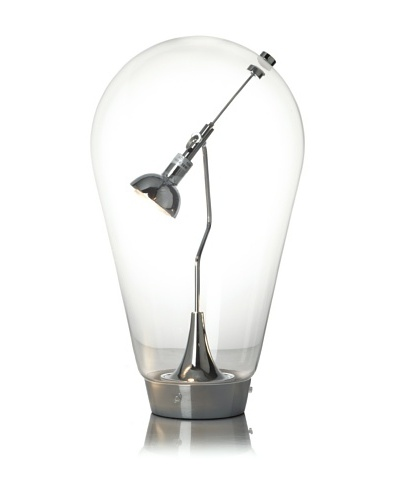 Kirch & Co. Edison Table Lamp, Silver
