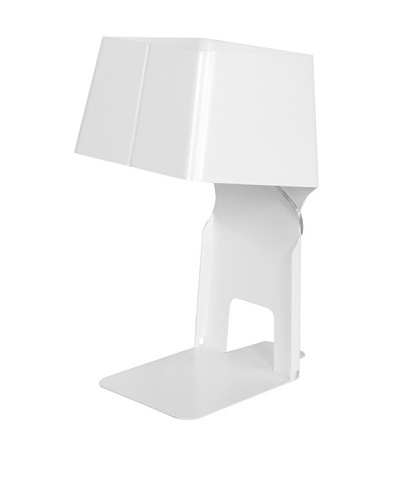 Control Brand Bookend Table Lamp, White
