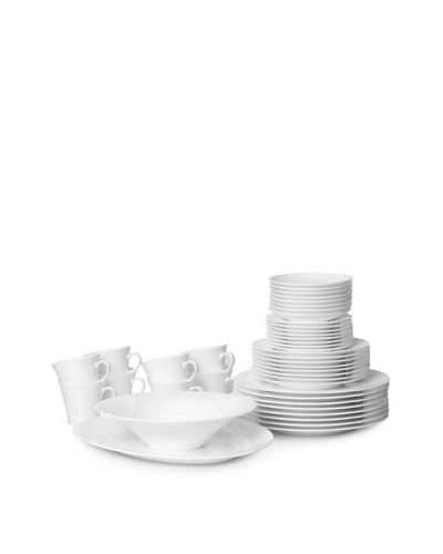 Nikko Ceramics Classic Braid 42-Piece Dinnerware Set