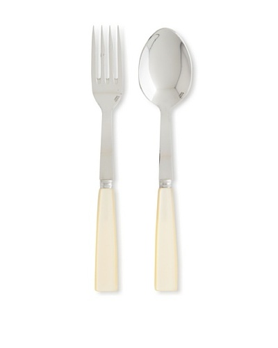 Sabre Natura 2-Piece Serving Set, Pearl