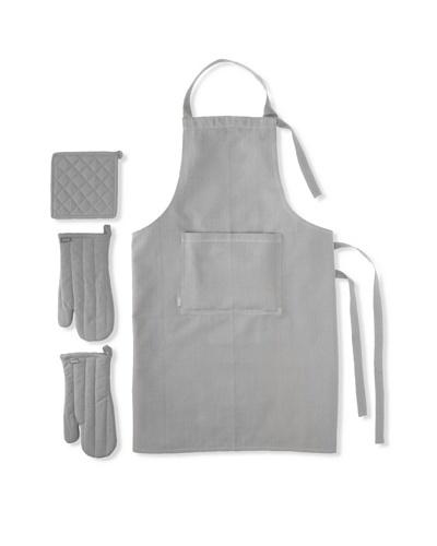 Winkler Apron Trend Kitchen Set, Grey