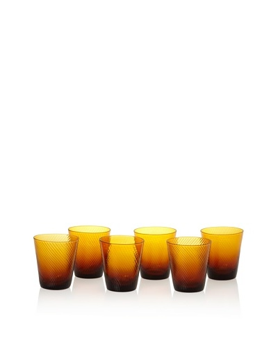 Impulse! Set of 6 Roma Rocks Glasses