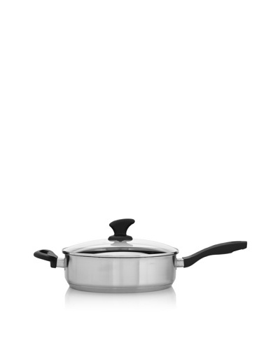 Beka Cookware Vita 11 Silver Nonstick Covered Sauté Pan with Helper Handle