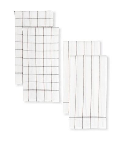 Winkler Set of 4 Classical Range Linen Kitchen Towels