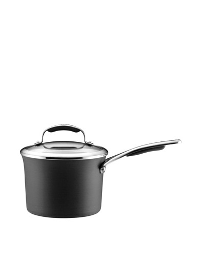 KitchenAid Gourmet Hard Anodized Nonstick 3-Qt. Covered Saucepan